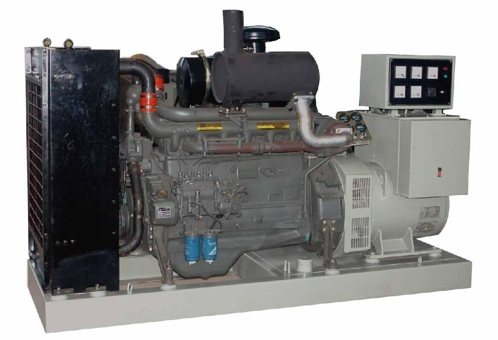 250KW上柴股份柴油发电机组 4