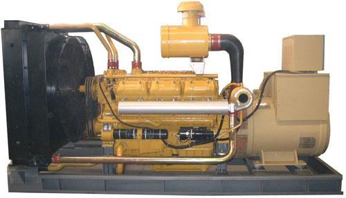 500KW上柴股份柴油发电机组 1
