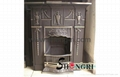 cast iron fireplace stove