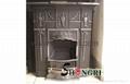 cast iron fireplace stove