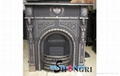 cast iron fireplace chimineas