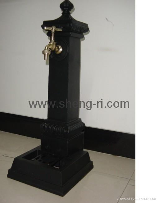 cast iron water fountain 1