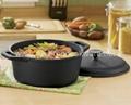 dutch oven / casserole pre-seasoned
