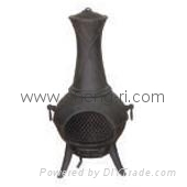 cast iron stove Chimenea