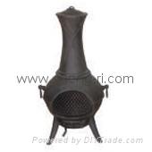 cast iron stove Chimenea