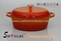 Cast Iron Enamel Casseroles