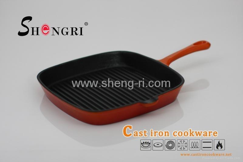 Enamel grill pan 1