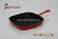 Enamel grill pan