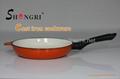 Enamel skillet / Frying Pan with bakelite handle