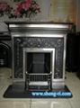 polishing cast iron fireplace