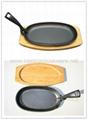 Steak Platter / Sevicing griddle / Fajita pan