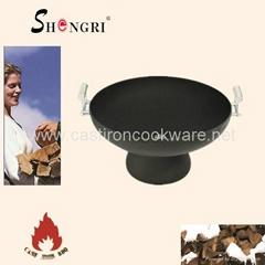 Shengri steel fire pit outdoor heater