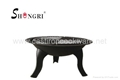 Shengri steel fire pit outdoor heater