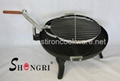 ire pit grill with wheels for camping