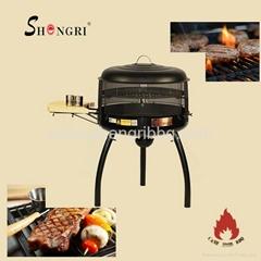Cast iron bbq grill