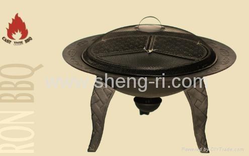 fire pit/braizer bbq grill/fire basket  3