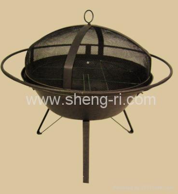 fire pit/braizer bbq grill/fire basket  4
