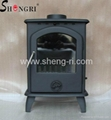casting iron wood fuel stove fireplace chimineas