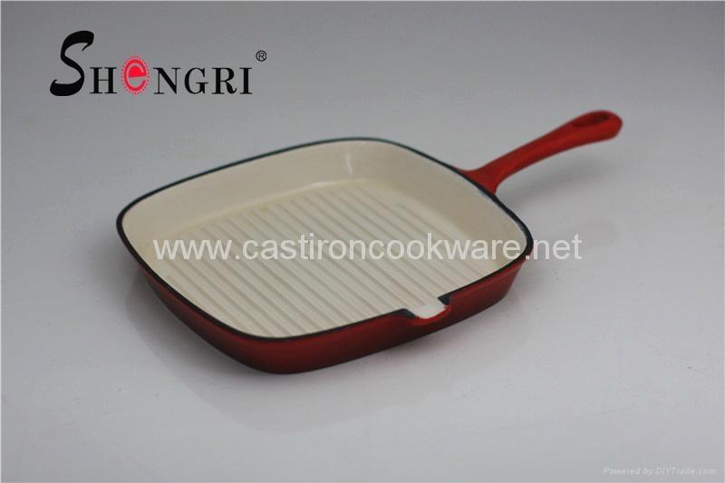 Enamel grill pan 2