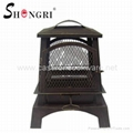 Shengri outdoor wood burning fire place