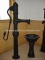 Cast iron garden water pump