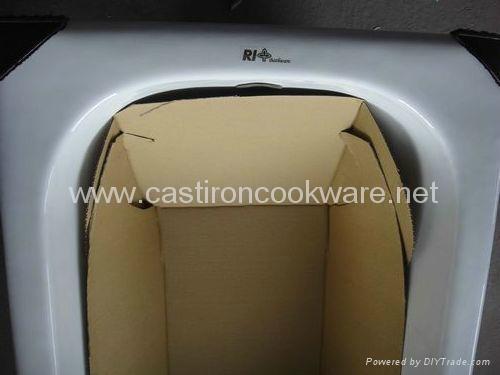 bathtub, Cast Iron Tub 2