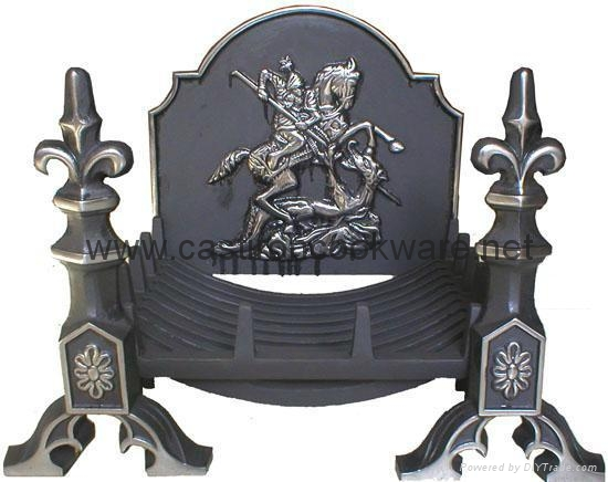 Cast Iron Outdoor Fire Basket Grates 13 ShengRi China