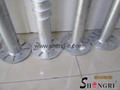 Hot Dipped Galvanized ground screw pole anchor