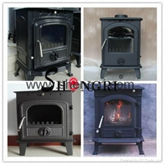 casting iron antique wood burning stove