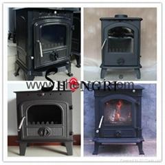 casting iron antique wood burning stove