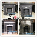antique cast iron wood fuel stove 2