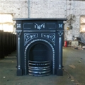 antique cast iron wood fuel stove 3