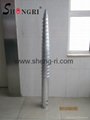 professional galvanized helical screw piles
