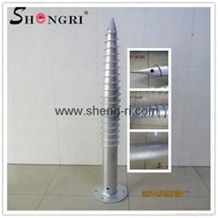 Q235 ground screw mounting(professional manufacturer)