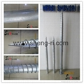hot dip galvanized helical piles