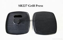 Cast Iron Grill Press SR