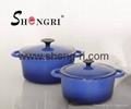 Enamel coating cast iron pot