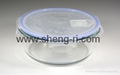 Food Storage Container Set with lock lid with valve