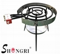 Gas ring burner 60cm