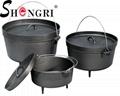 Cast Iron Cookware Dutch Oven