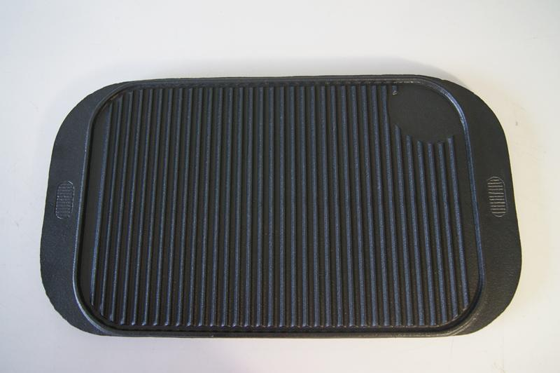 Square Camping Grill Plate BBQ Cookware 5