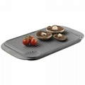 Square Camping Grill Plate BBQ Cookware 6