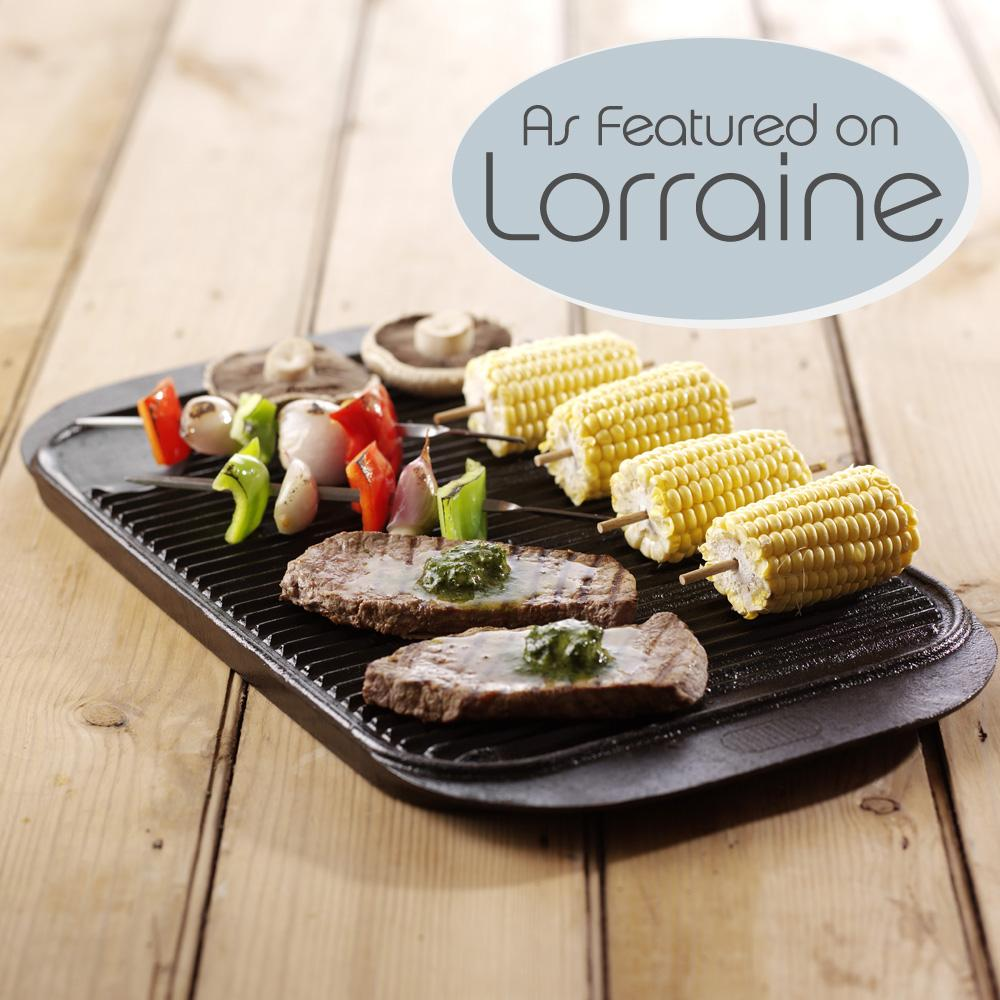 Square Camping Grill Plate BBQ Cookware 7