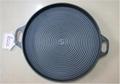 Cast Iron Cookware BBQ Grill Outdoor Sillet Plate Outdoor Cookware