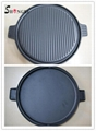 Cast Iron Cookware BBQ Grill Outdoor Sillet Plate Outdoor Cookware 1