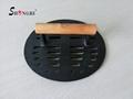 Animal & Round & Rectangular Shape Cast Iron Meat Press With Metal Handle