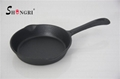 Cast Iron Cookware Pre-seasoned Fry Pan With Handle