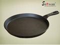 Shengri Cast Iron Thin Bread Pan