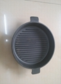 Pre-seasoned Frying Pan With Ear Handles Cast Iron Cookware