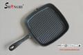 Square Cast Iron Fry Pan